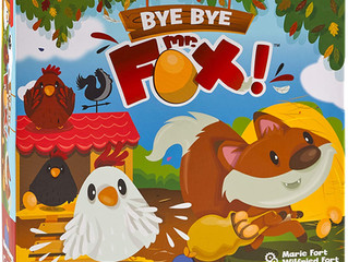 Blue Orange Bye Bye Mr. Fox Cooperative Game