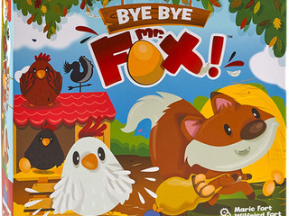 Blue Orange Bye Bye Mr. Fox Cooperative Game