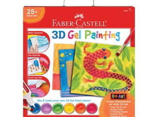 Faber Castell 3D Gel Painting