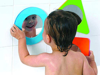 Edushape TubFun Magic Mirror Shapes