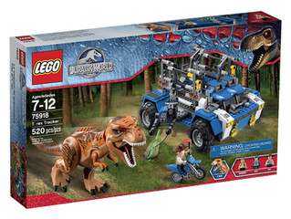 LEGO Jurassic World T. Rex Tracker