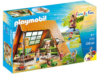 Playmobil Family Fun Camping Lodge
