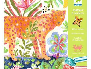 Djeco Glitter Pictures Tropico