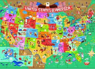 Innovative Kids America the Beautiful 60-Piece Floor Puzzle