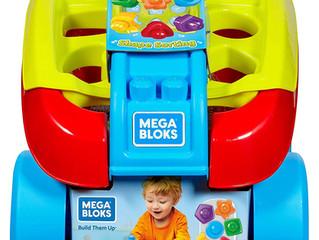 Mega Bloks Shape Sorting Wagon