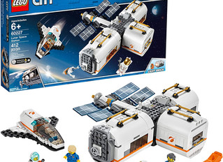 Lego City Space Lunar Space Station