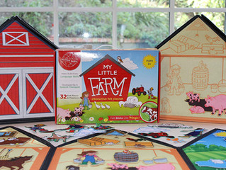 Smart Felt Toys My Little Farm