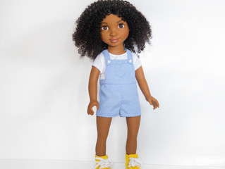 Healthy Roots Doll Zoe Girl