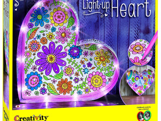 Creativity for Kids Light Up Heart Marquee