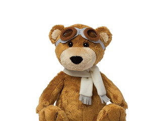 Manhattan Toy Aviator Bear Plush Toy