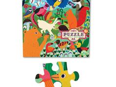 eeBoo Busy Meadow 64 Piece Puzzle