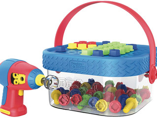 Educational Insights Design & Drill Bucket