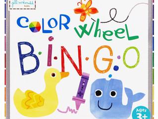 C.R. Gibson Color Wheel Bingo