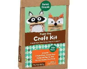 Mudpuppy Paper Bag Craft Kits