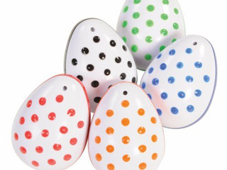 Edushape Textured Egg Shakers, Set of 5