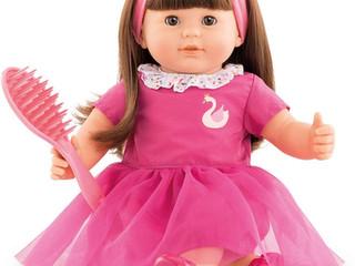 Corolle Large Baby Doll Alice with Brunette Hair  or Ambre , the redhead or Adele, a blonde