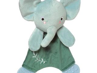 Manhattan Toy Safari Elephant or Lion Teether Lovie