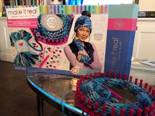 Make It Real Knitting Beanie Bun Kit