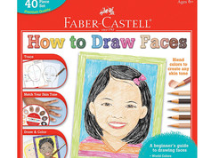 Faber-Castell World Colors How to Draw Faces Kit