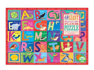 eeBoo 48 Piece Alphabet Giant Floor Puzzle