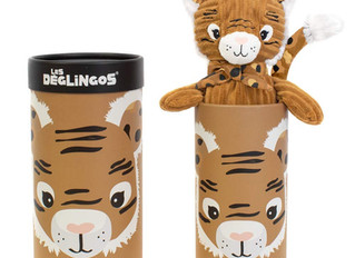 Les Déglingos Soft Toys in Tubes Collection