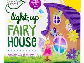 Horizon Creative Roots Light Up Fairy House
