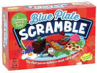 Peaceable Kingdom Blue Plate Scramble