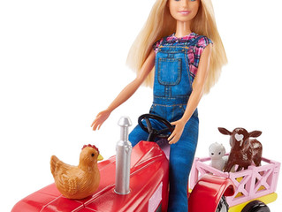 Mattel Farmer and Tractor Barbie