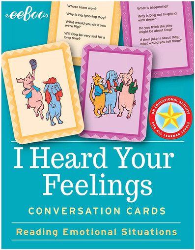eeBoo Conversation Cards: I Heard Your Feelings and Respect the Earth