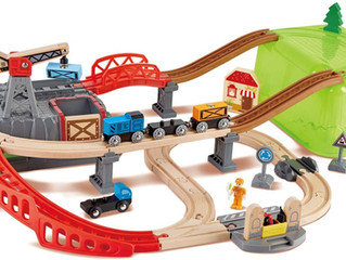 Hape Railway Construction Kit Set
