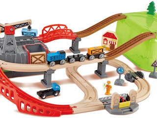 Hape Railway Construction Kit Set