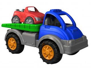 American Plastic Toy Gigantic Car Hauler