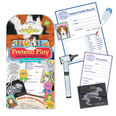 eeBoo Veterinarian Vet Pretend Play Set