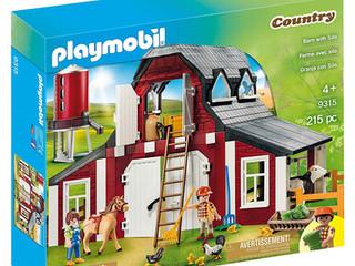 Playmobil Country Barn and Silo