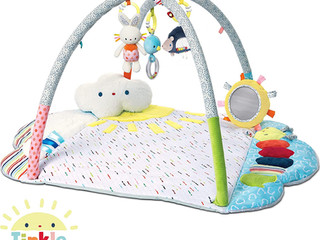 Gund Baby Tinkle Crinkle Arch Playmat