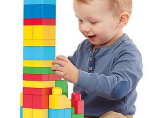 Fisher-Price Mega Bloks 80-Piece Big Building Bag, Classic