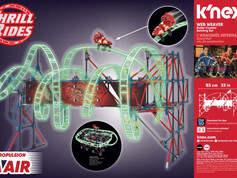 K'NEX Thrill Rides Web Weaver Roller Coaster Building Set   AWARD PENDING