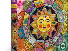 eeBoo Piece and Love Astrology 1000 Piece Square Jigsaw Puzzle