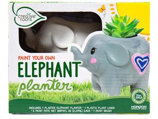 Horizon Paint Your Own Elephant Planter