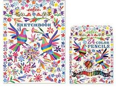eeBoo 24 Color Pencil Sets & Sketch Books