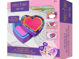 Skullduggery Heart Keepsake Box Kit