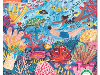 eeBoo Coral Reef or RainForest  1000 Piece Puzzles