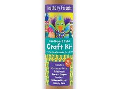 Mudpuppy Feathery Friends Cardboard Tube Craft Kit
