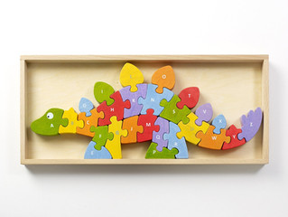 Begin Again Dinosaur A to Z Puzzle