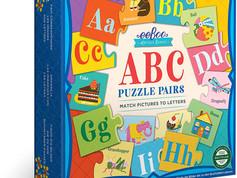 eeBooo ABC Puzzle Pairs