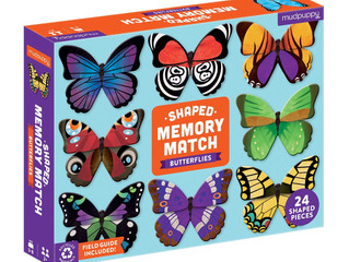 Mudpuppy Butterfly Shaped Matching Game