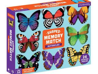 Mudpuppy Butterfly Shaped Matching Game