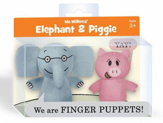 Mo Willems' Elephant and Piggie Finger Puppets