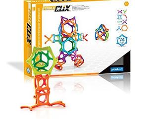 Guidecraft 74-piece Organics-Powerclix