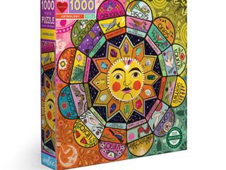 eeBoo 1000-piece Puzzles: Astrology, Songbird Tree, and Angela